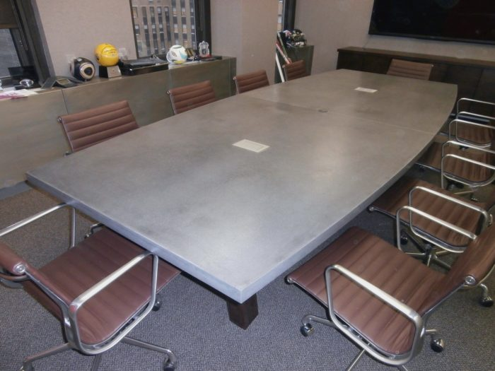 Concrete conference tables-Broward Custom Concrete Solutions-We offer custom concrete solutions including Polished concrete, Stained concrete, Epoxy Floor, Sealed concrete, Stamped concrete, Concrete overlay, Concrete countertops, Concrete summer kitchens, Driveway repairs, Concrete pool water falls, and more