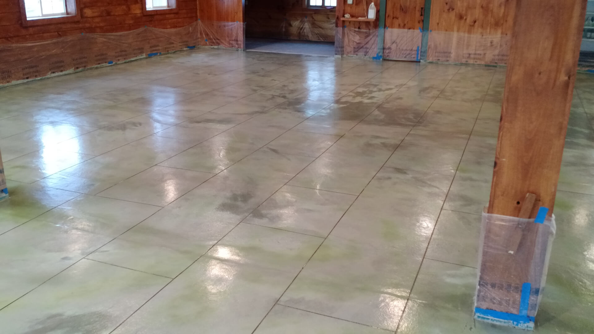 Custom Staining-Broward Custom Concrete Solutions-We offer custom concrete solutions including Polished concrete, Stained concrete, Epoxy Floor, Sealed concrete, Stamped concrete, Concrete overlay, Concrete countertops, Concrete summer kitchens, Driveway repairs, Concrete pool water falls, and more
