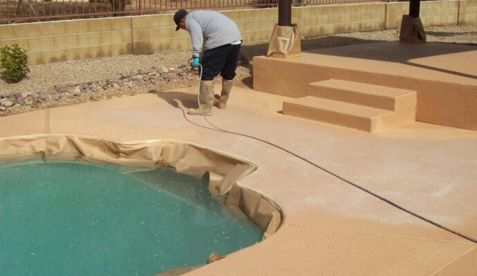 Pool Deck Resurfacing-Broward Custom Concrete Solutions-We offer custom concrete solutions including Polished concrete, Stained concrete, Epoxy Floor, Sealed concrete, Stamped concrete, Concrete overlay, Concrete countertops, Concrete summer kitchens, Driveway repairs, Concrete pool water falls, and more